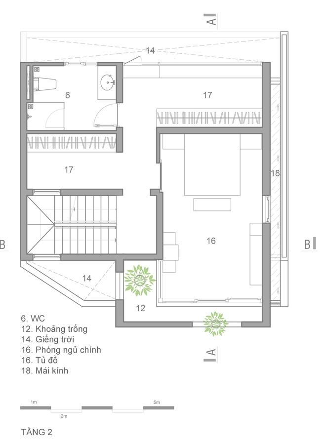 ngôi nhà 4 tầng