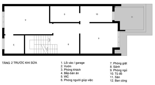 Sửa chữa nhà phố 3 tầng