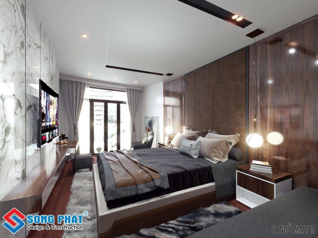 Phòng ngủ lãng mạn, yên bình