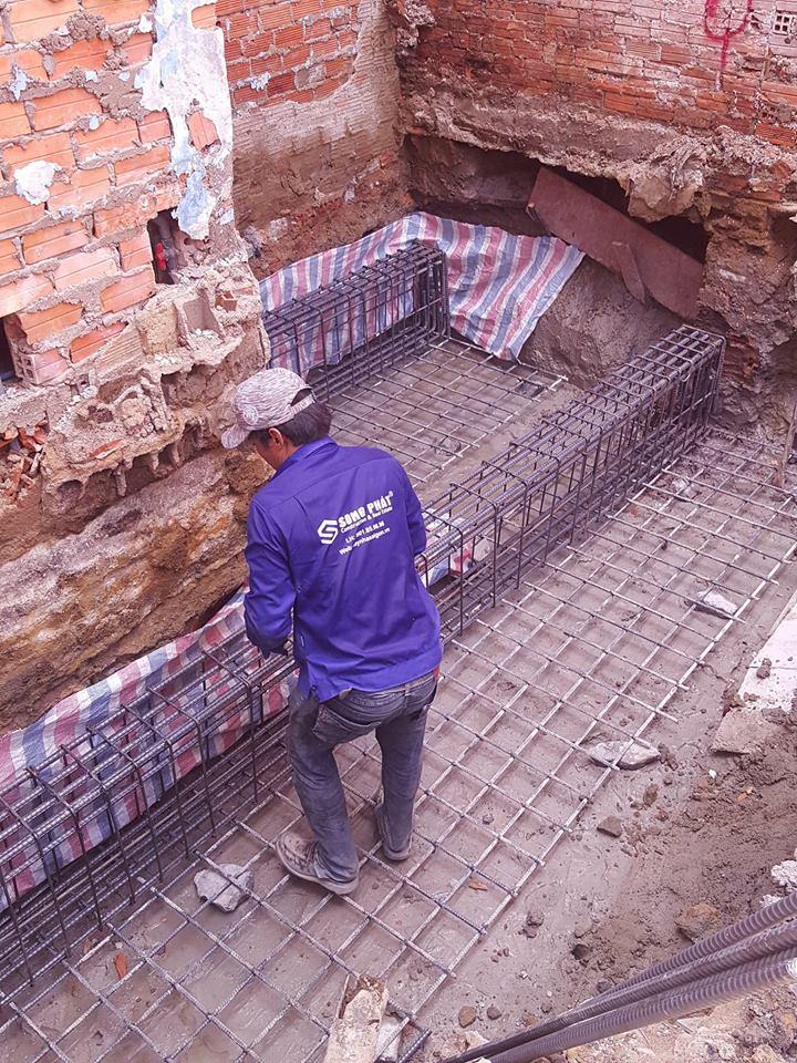 thi công xây dựng nhà phần thô