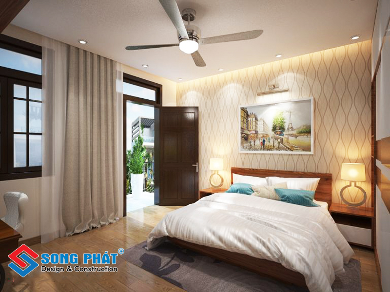 Phòng ngủ kín đáo cho người lớn tuổi trong mẫu thiết kế nội thất đẹp
