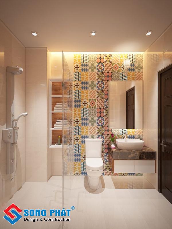 Nhà tắm hiện đại trong mẫu thiết kế nội thất đẹp