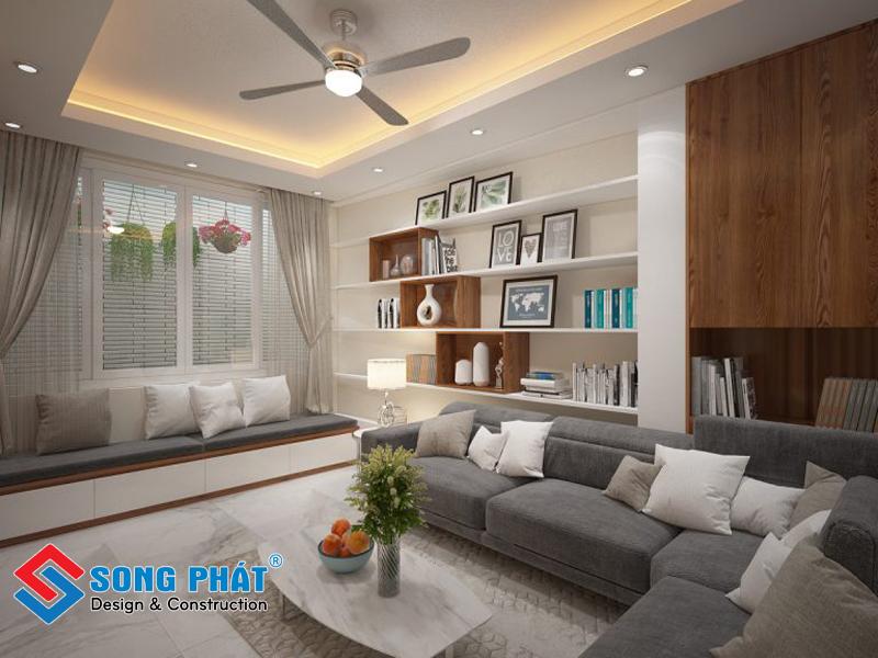 Mẫu thiết kế nội thất nhà đẹp 3 tầng