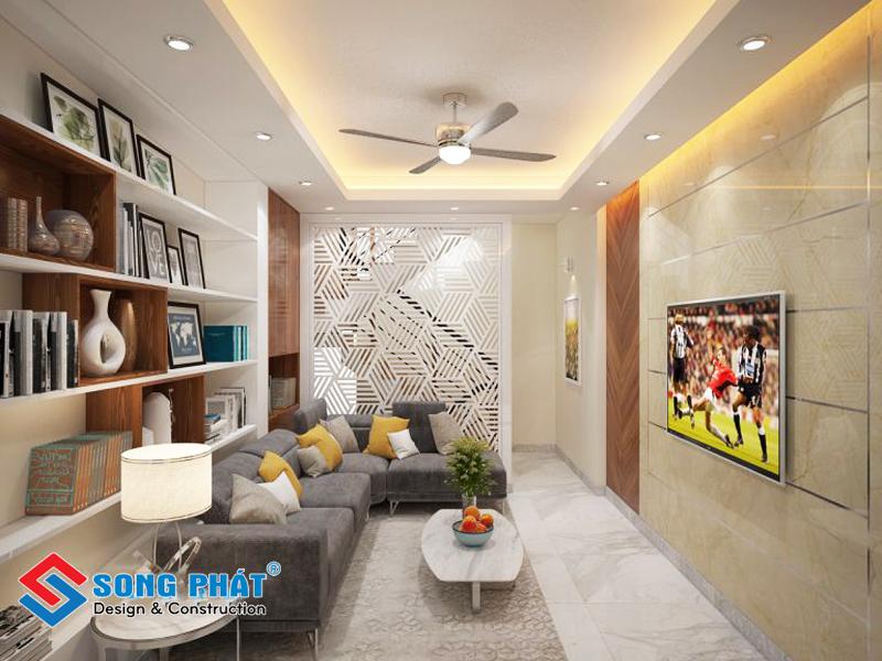 Hệ lam trang trí xinh đẹp trong mẫu thiết kế nội thất đẹp