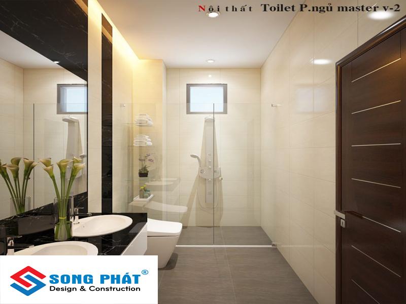 Hoàn thiện nội thất cần thiết cho nhà 80m2 1 trệt 2 lầu