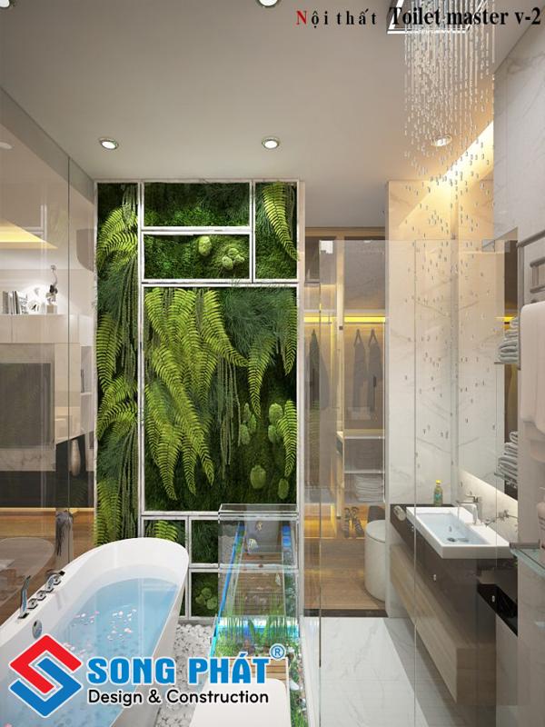 Ý tưởng thiết kế nhà vệ sinh tiện khoa học cho nhà phố tiện nghi