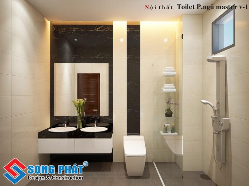 Thẩm mỹ được quan tâm nhiều hơn trong thiết kế nhà vệ sinh