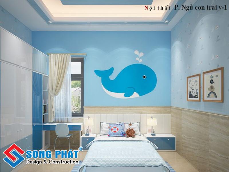 Tùy theo sở thích của trẻ mà thiết kế phòng ngủ cho phù hợp