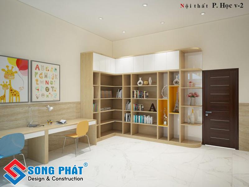 Phòng đọc sách và học tập