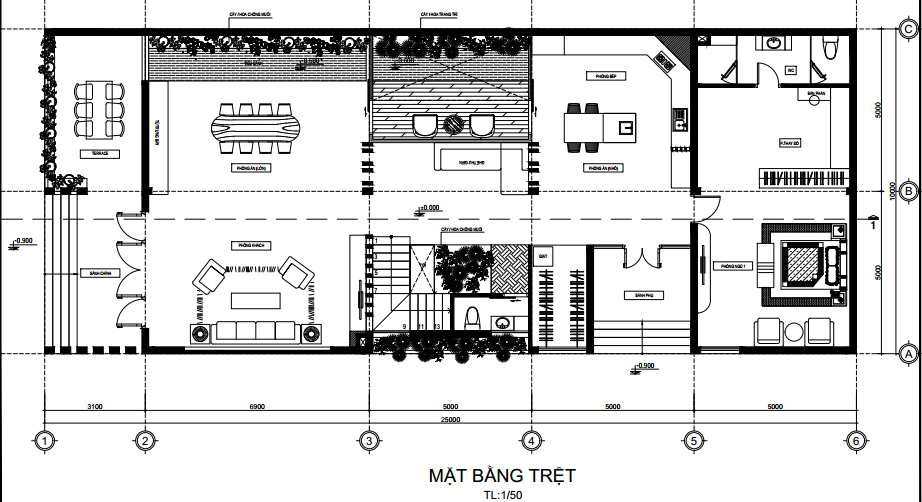 thiết kế biệt thự phố