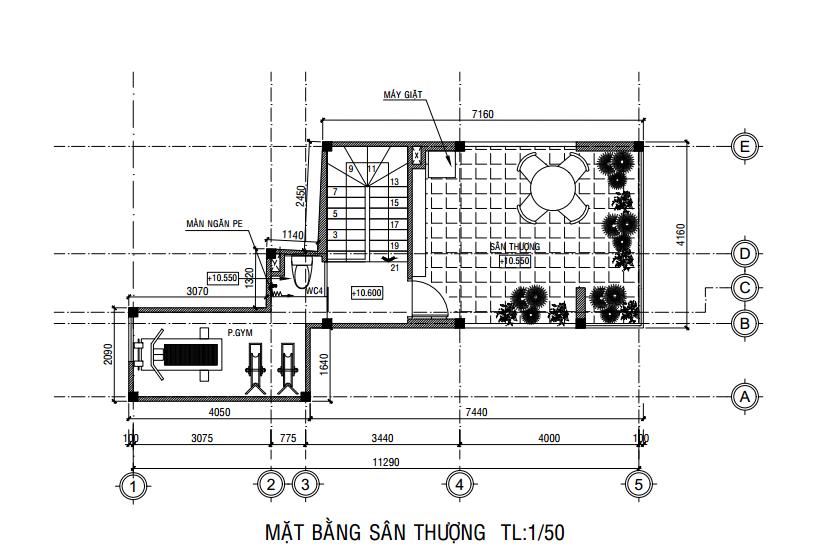 xây nhà trên đất méo