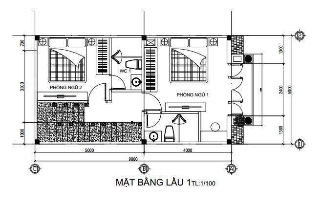 nhà tân cổ điển 3 tầng