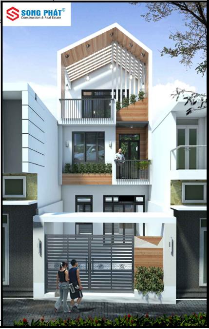 thiết kế nhà phố 2019