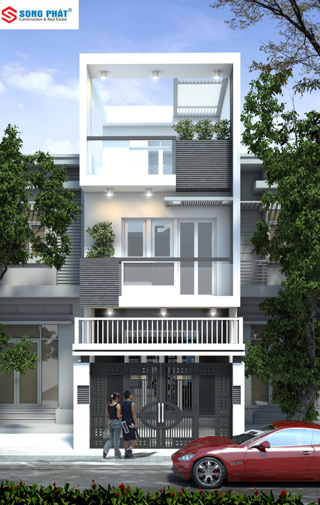 giá xây nhà 3 tầng