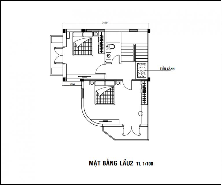 thiết kế nội thất nhà 3 tầng