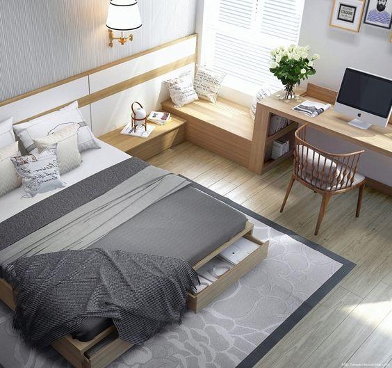 ý tưởng bố trí phòng ngủ