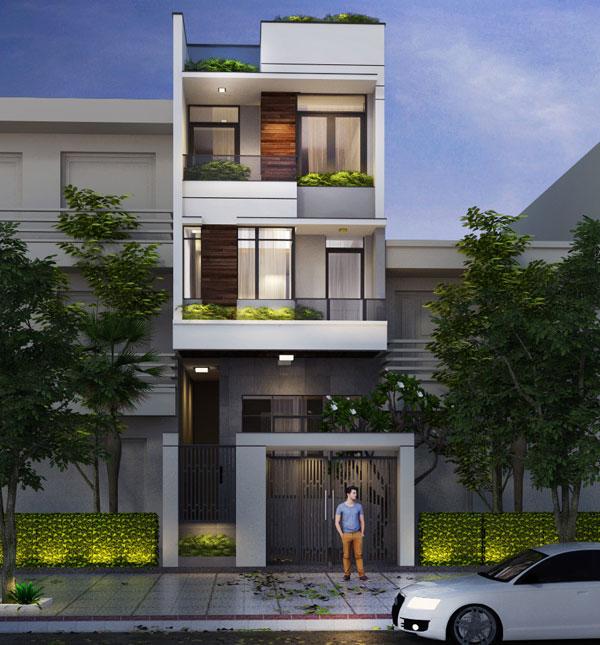 mẫu nhà 3 tầng 2019