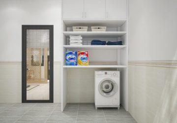 bố trí phòng giặt