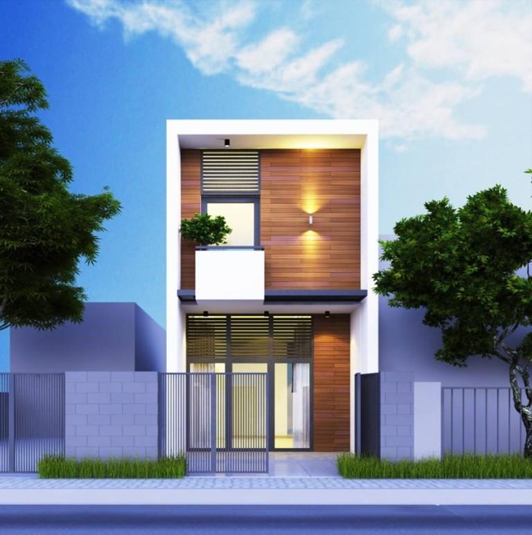 mẫu nhà phố 1 tầng 2019