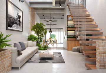 nội thất nhà 3 tầng 2019