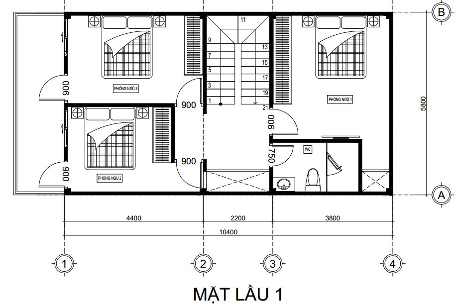 tư vấn xây nhà 60m2