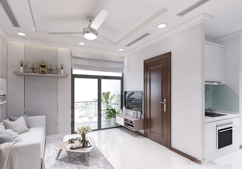nội thất chung cư 80m2