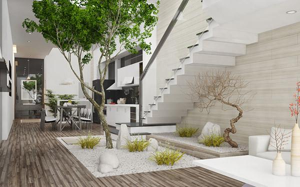 nội thất nhà 4 tầng cho thuê