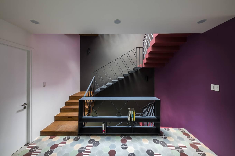 thiết kế nhà 3 tầng phá cách