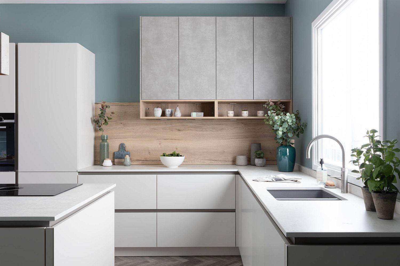 không gian bếp hiện đại