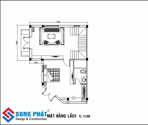 hoàn thiện nội thất nhà phố liền kề tại hcm 5