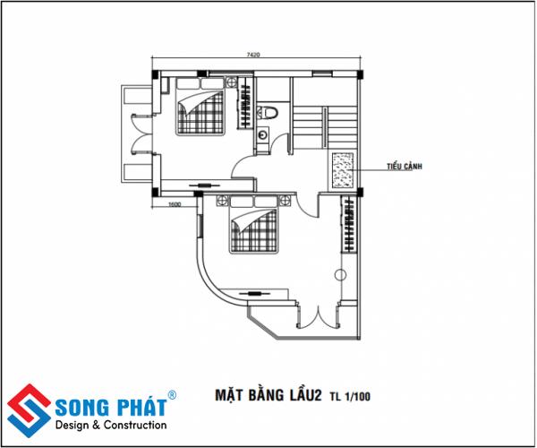 Hoàn thiện nội thất nhà phố liền kề tại hcm 6