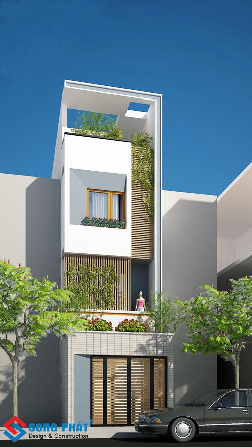 Hoàn thiện nhà 4 tấm mái bằng diện tích 60m2 tại TP.HỒ CHÍ MINH