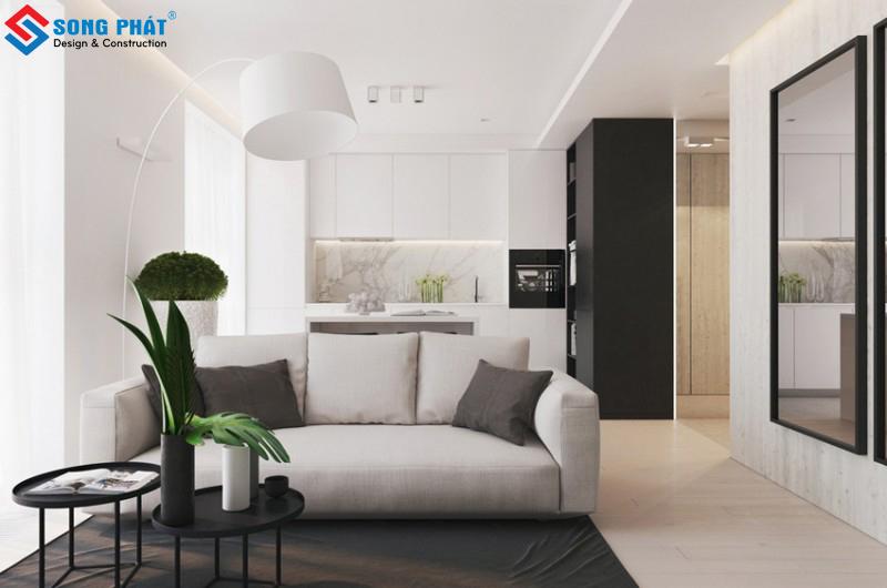 Khám phá thiết kế nội thất chung cư 52m2 hiện đại giữa Sài Gòn