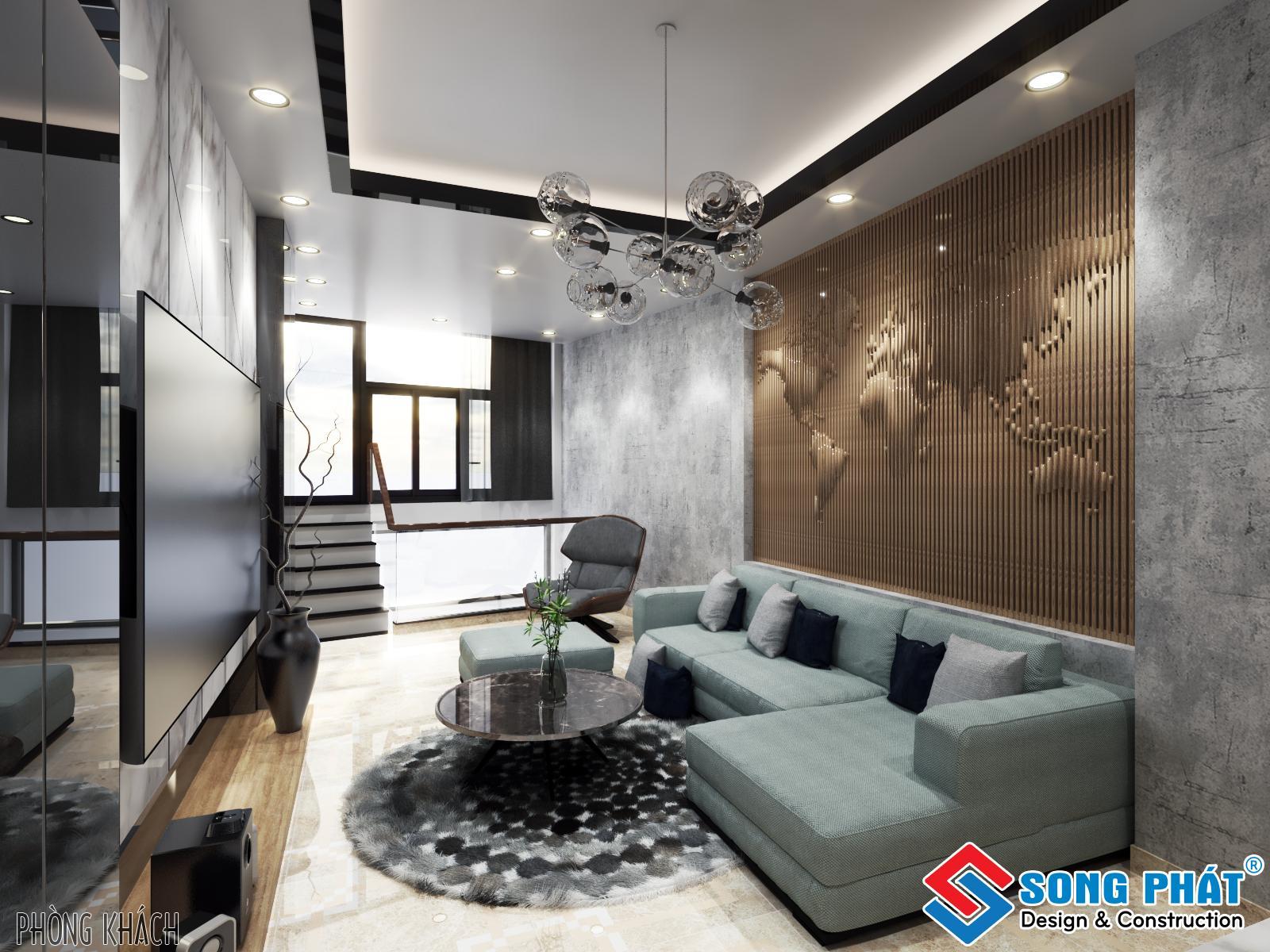 Thiết kế nội thất nhà phố.