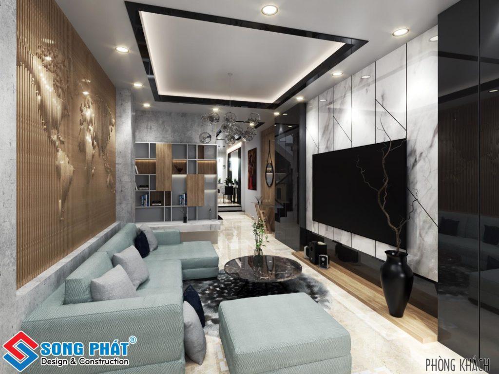 Hoàn thiện thiết kế nội thất nhà phố đón năm mới tại Quận Bình Tân.