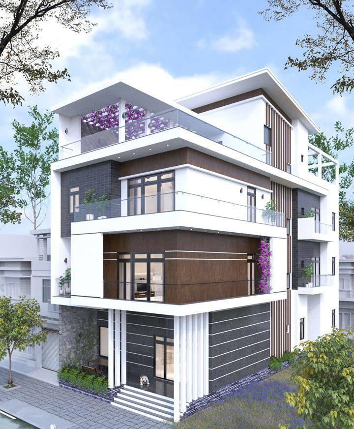 Tư vấn thiết kế nhà phố 3 tầng diện tích 10x25m tại Gò Vấp.