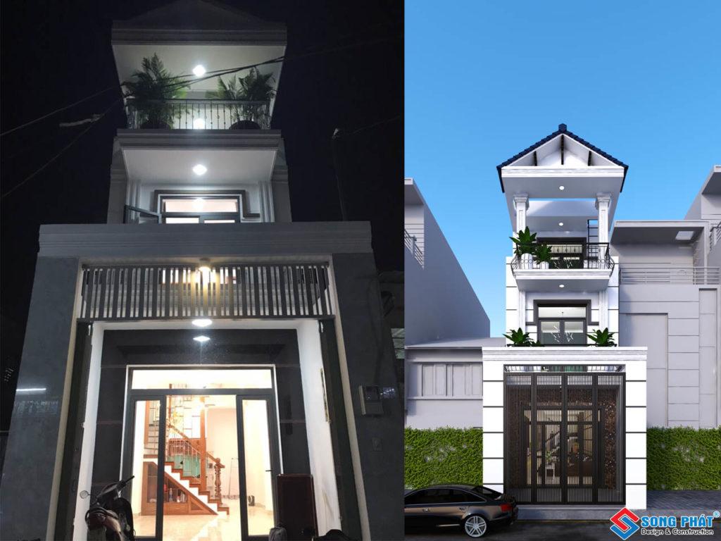 Bàn Giao Nhà 1 Trệt 1 Lầu 1 Sân Thượng Tân Cổ Điển Tại Quận Bình Tân.
