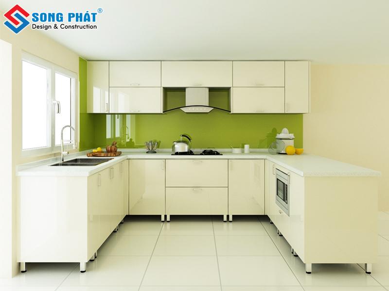 Mẫu thiết kế phòng bếp cho không gian nhỏ