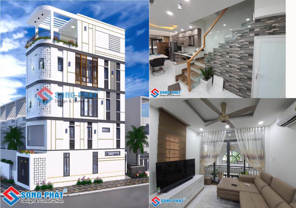 Nhà 4 tầng 2 mặt tiền đã hoàn thiện, quận Phú Nhuận, TPHCM
