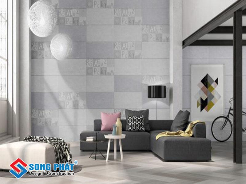 Chọn gạch ốp tường cần sự phối hợp màu sắc hài hòa