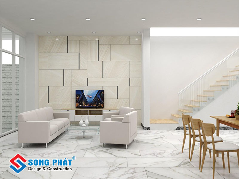 Chọn màu gạch ốp tường phù hợp với phong thủy sẽ mang lại vận tốt cho gia đình bạn