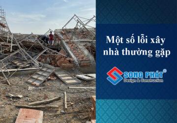 Một số lỗi xây nhà ở dân dụng thường gặp