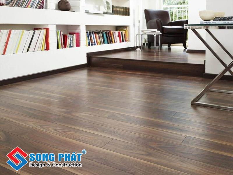 Sàn gỗ mang lại vẽ đẹp tự nhiên, giúp phối cảnh nội thất dễ dàng