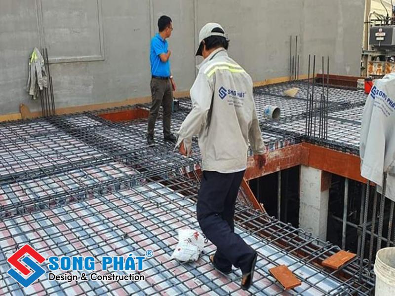 Thầu xây dựng của Công ty Song Phát