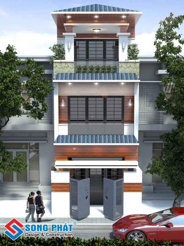 Vậy thiết kế nhà phố mái ngói là gì?