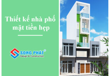 Giải pháp dành cho thiết kế nhà phố mặt tiền hẹp