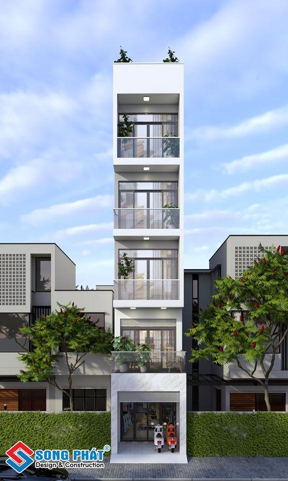 Nhà 4 tầng mặt tiền đẹp ngay trung tâm Quận 3 – kiến trúc hiện đại.